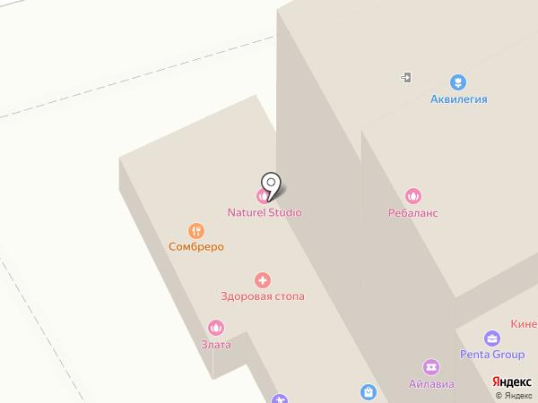 Sparkle на карте Москвы
