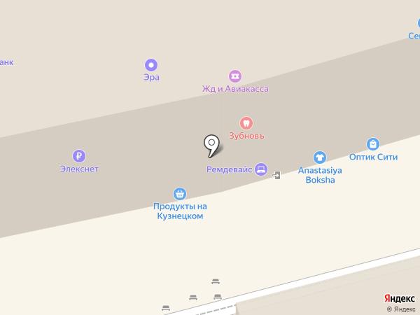 ФИНАРС Банк на карте Москвы