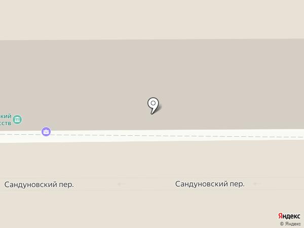 Нотариус Старикова Е.В. на карте Москвы