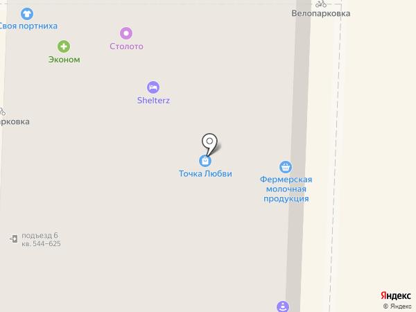Швейный Мир на карте Москвы