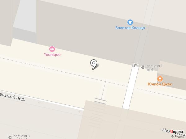 Шторм на карте Москвы