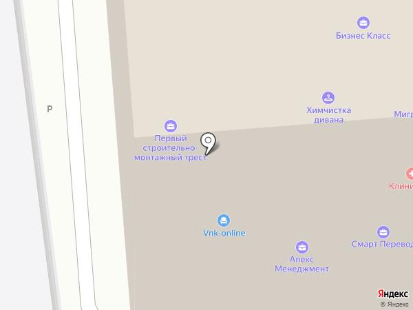 Центр корпоративных решений на карте Москвы