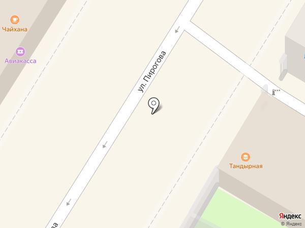 Киоск по продаже фастфудной продукции на карте Тулы