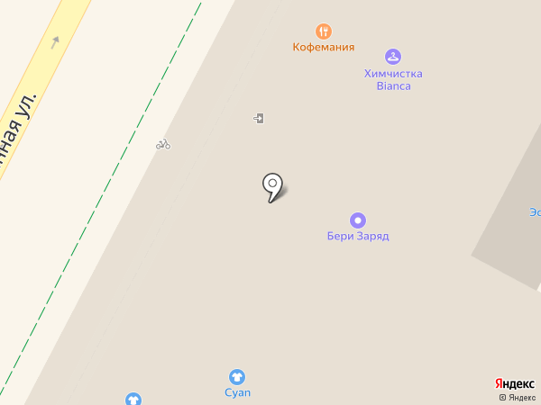 Экран на карте Москвы