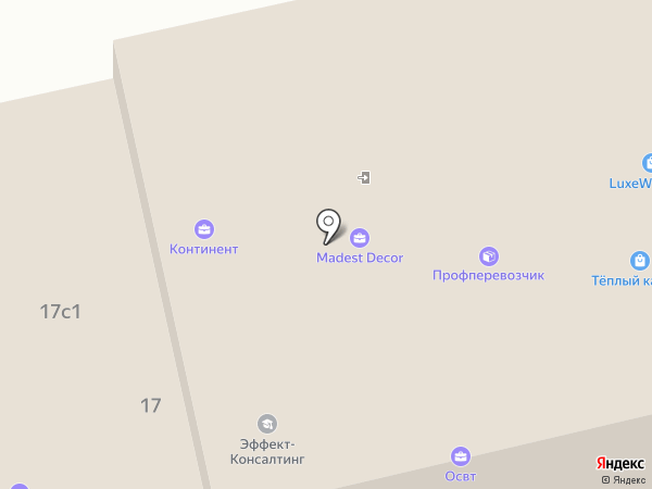 Триумф-Инжиниринг на карте Москвы