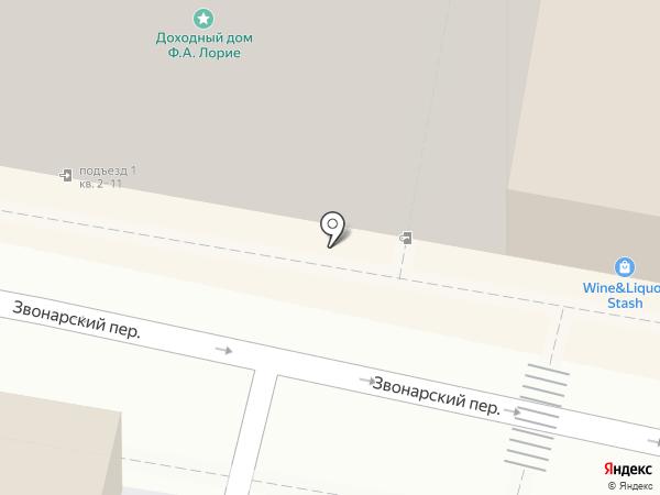 Проекта на карте Москвы