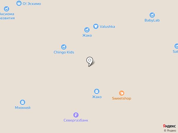 ArctLand на карте Москвы