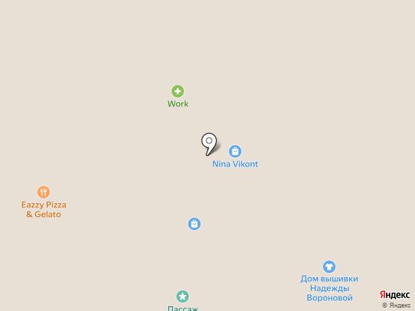 Подарю на карте Москвы
