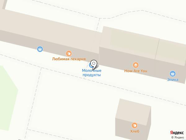 Киоск по продаже колбасных изделий на карте Тулы