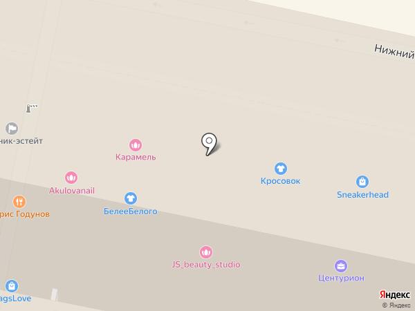 Persona Beauty Bar на карте Москвы