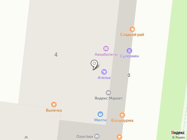 Висконт на карте Москвы