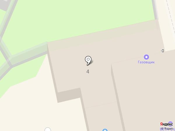 Газовщик на карте Тулы
