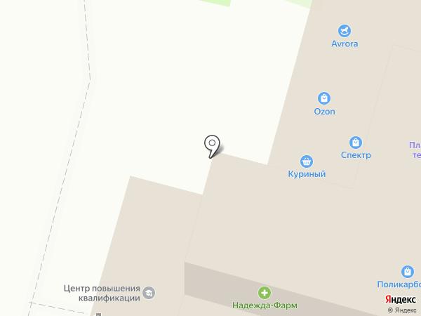 Куриный на карте Тулы