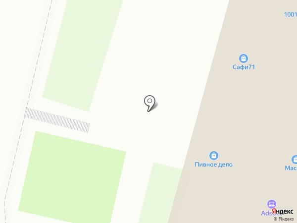 ПеРеЦ на карте Тулы