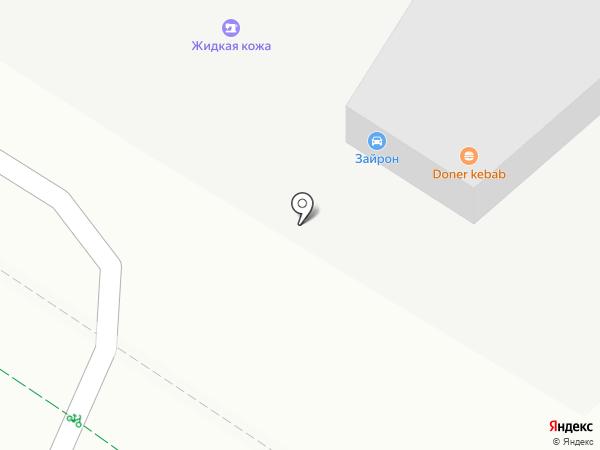 Авто-Мерин на карте Москвы