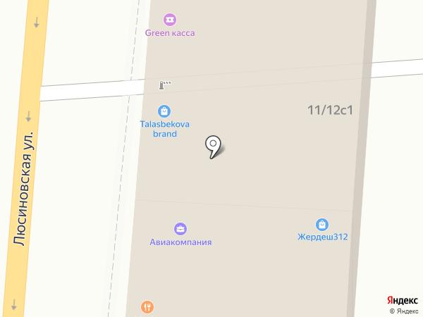 Сулико на карте Москвы