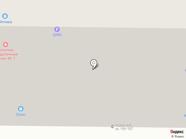 Авинэкс на карте Москвы