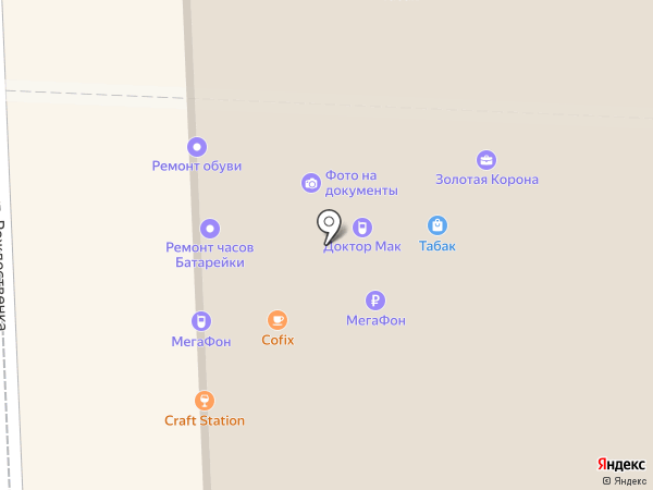 Рюмочная на карте Москвы