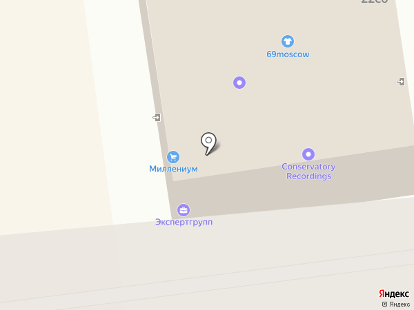 IPhonoff на карте Москвы