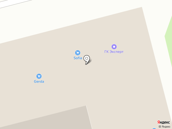 ДОМИНО на карте Тулы