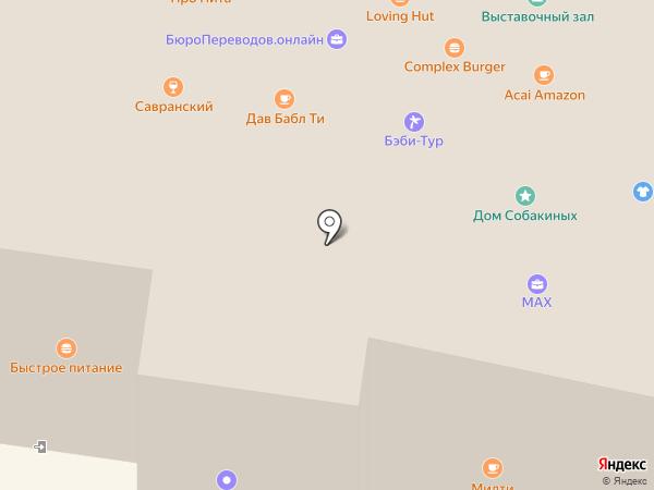 Лотос-В на карте Москвы