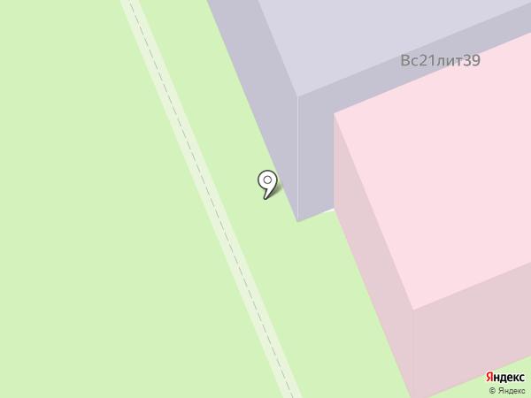 Мещерское медицинское училище на карте Мещерского