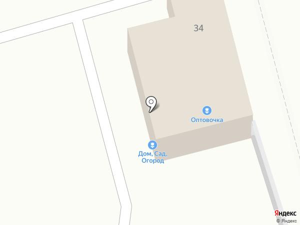 Оптовочка на карте Тулы