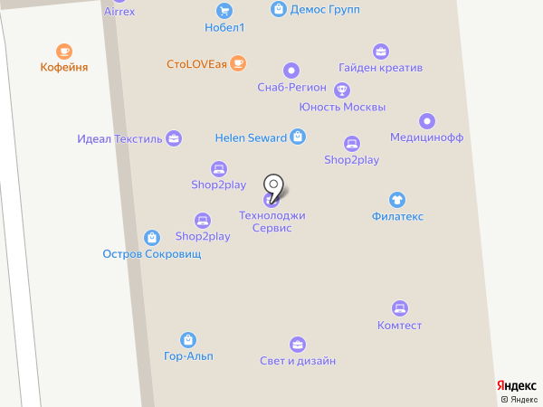 Group-MPS на карте Москвы