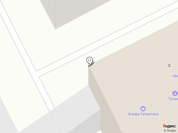 Маджента на карте Тулы