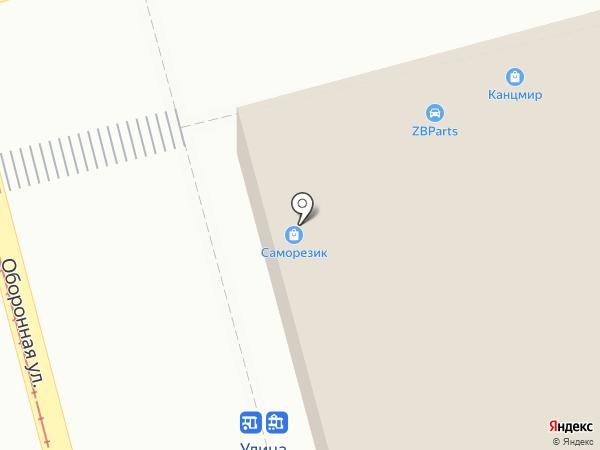 ВНкор на карте Тулы