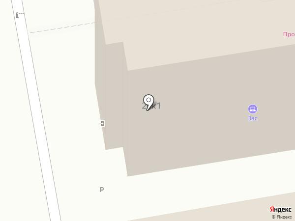 Zallex на карте Москвы