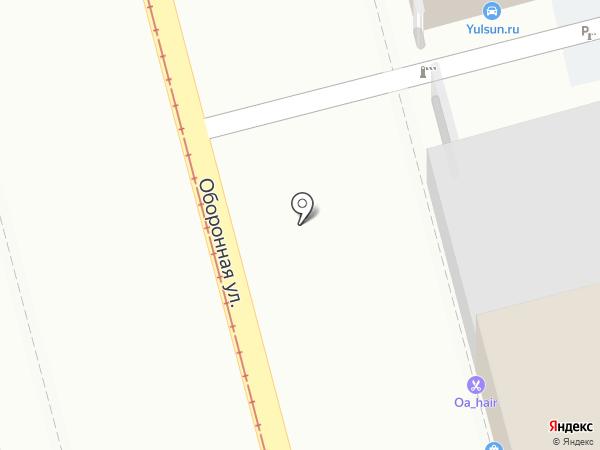 Заводские двери на карте Тулы