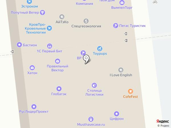 Чартер Билет на карте Москвы