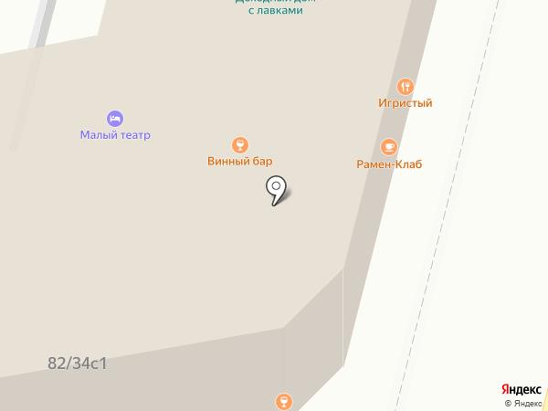 Заря на карте Москвы