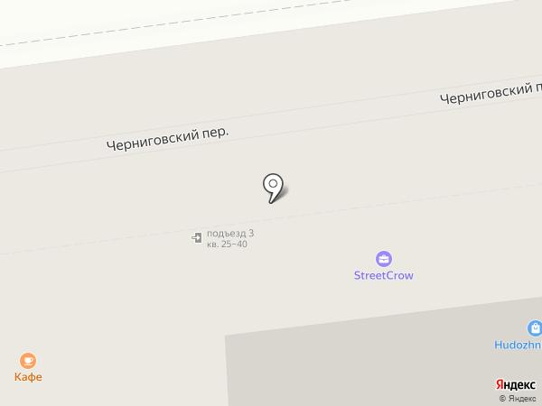 Ромбус на карте Москвы