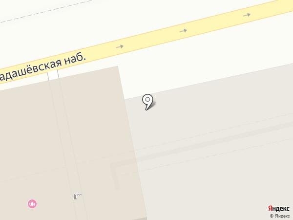 Студия декора на Пятницкой на карте Москвы