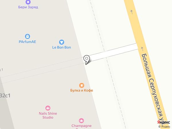 Слетать.ру на карте Москвы