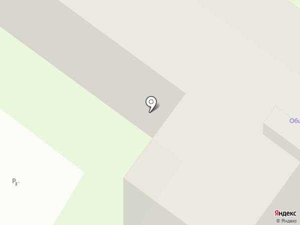 Общежитие на карте Тулы