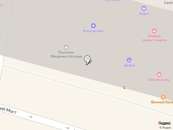Имидж-студия Алексея Тиртичного на карте Москвы