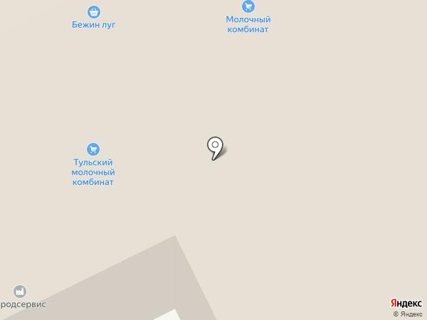Бежин луг на карте Тулы