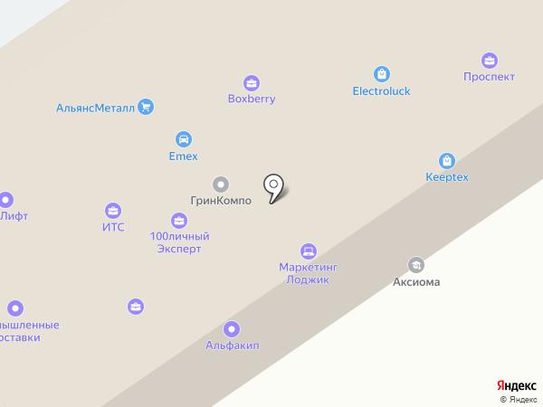 Unitecsys на карте Москвы