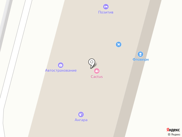 Атнекс на карте Москвы