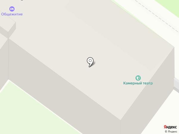 Тульский Камерный Драматический театр на карте Тулы