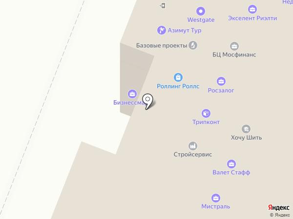 Агат на карте Москвы