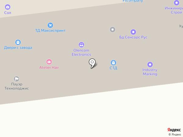 ExpoForce на карте Москвы