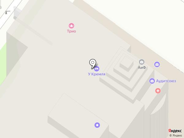 Межрегиональная коллегия адвокатов Тульской области на карте Тулы