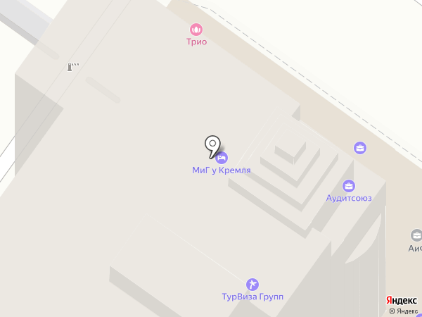 Ризолит на карте Тулы