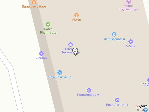 ФлагманТелеком на карте Москвы