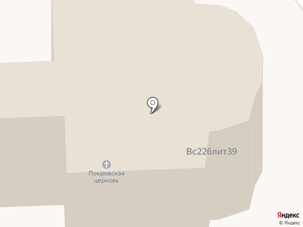 Храм Покрова Пресвятой Богородицы на карте Мещерского