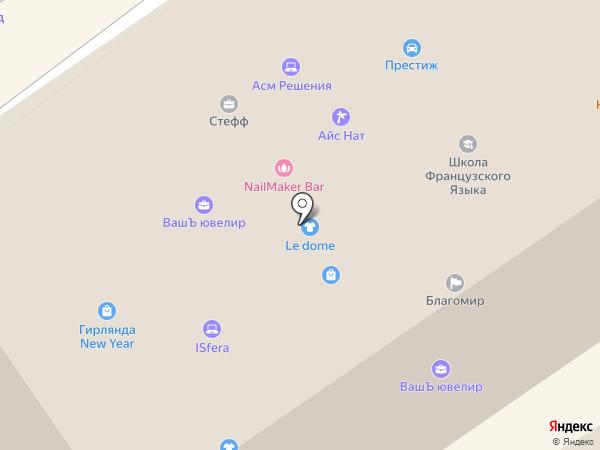 Интерактивный Мульт на карте Москвы